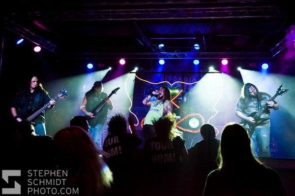 Band 3 performing at MAC