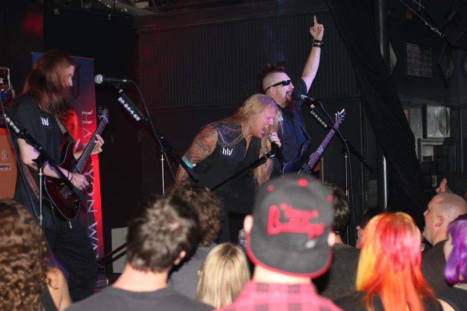 Halcyon Way performing at MAC